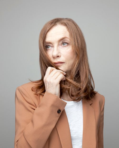 Isabelle Huppert photographed by Sandro Baebler for The Wrap, 13 May 2015
