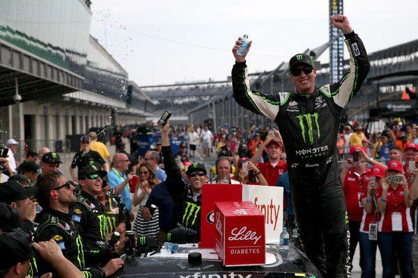 Kyle Busch Photos - NASCAR XFINITY Series Lilly Diabetes 250 - Zimbio