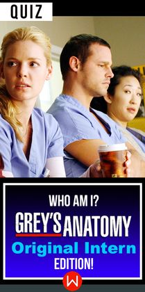 How well do you think you really know the original Grey's interns? Go ahead and take this quiz to find out! Original Interns Of Grey's Anatomy. Do you remember the interns from the very first season of Grey's? Let's see if you know all the Grey's Anatomy Interns facts. Greys Anatomy trivia, Shondaland, Shonda Rhimes.