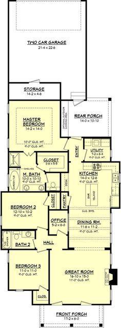 Willow Brook House Plan