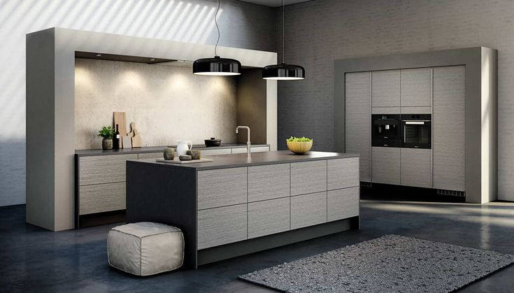 HTH Fabolous Kitchen in Harmony Grey - grå overskap