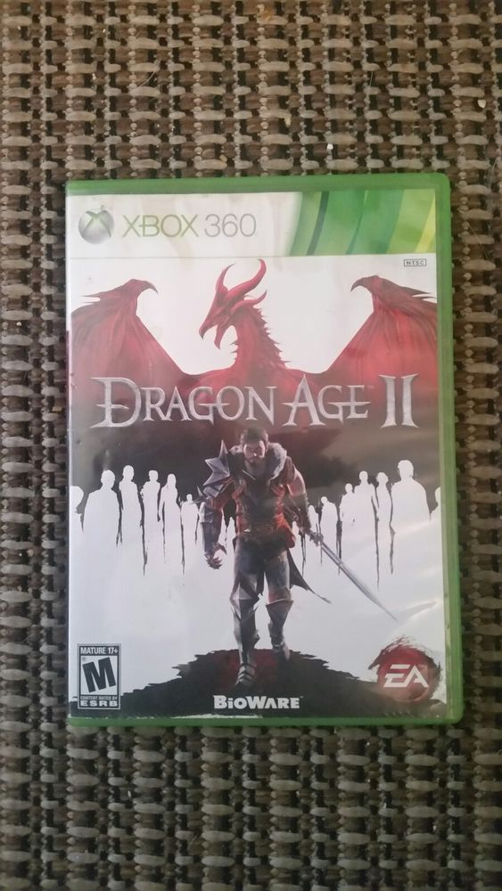Dragon Age II (Microsoft Xbox 360, 2011) Used Tested Video Game Fast Shipping !!