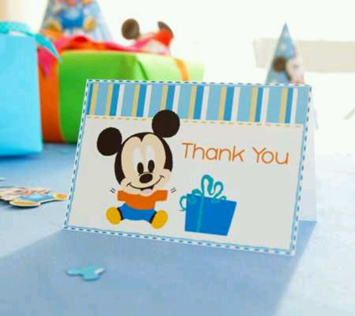28 best gabriel's mickey mouse 1st birthday images on pinterest, Birthday invitations
