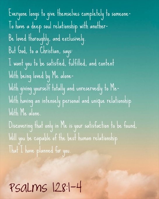 the beginning of a relationship poems