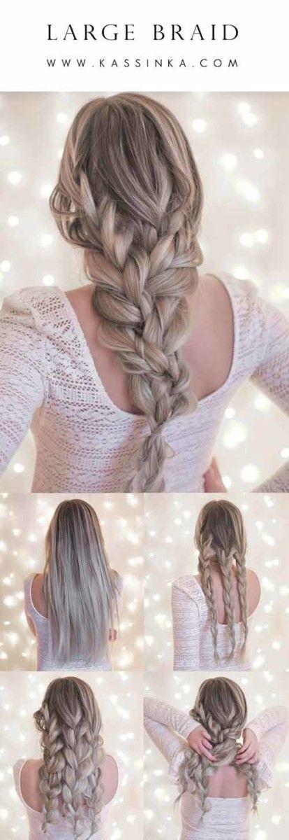 20 einzigartig schöne geflochtene Frisuren für Mädchen