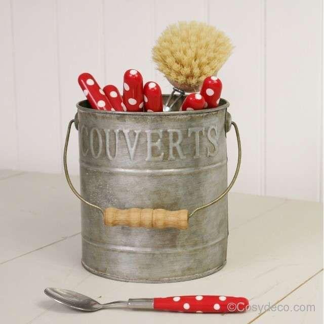 31 best Objets Déco en Zinc images on Pinterest   Countertop, Jars ...