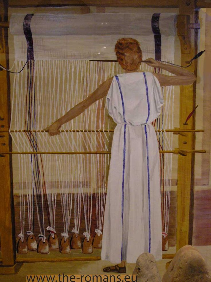 Roman weaving