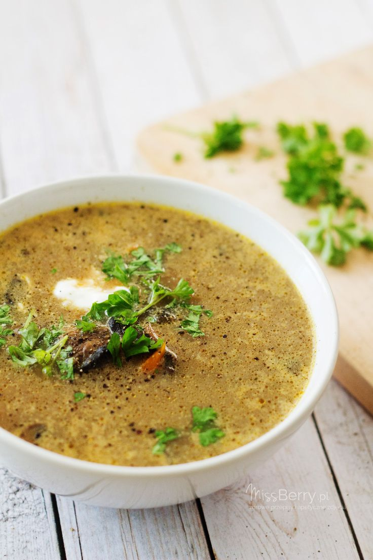 Mushroom Soup by Miss Berry