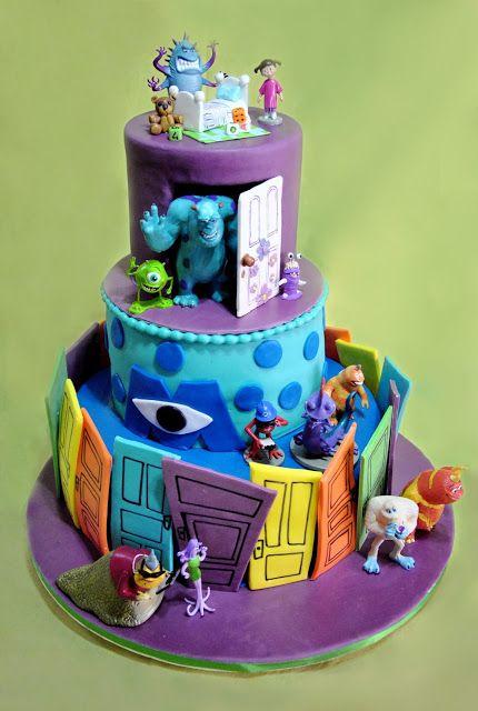 Le torte decorate di CettyG...: Monsters & Co Cake...