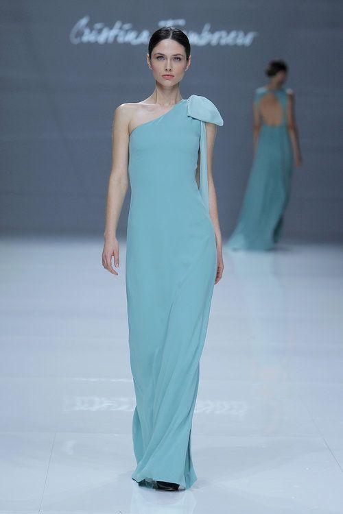 3baaebad6 44 vestidos de festa azuis longos 2017. Espetaculares! - página 2 Vestido  De Fiesta