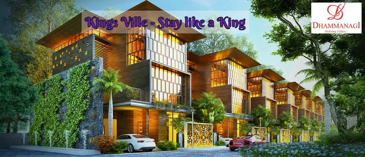Luxury villas are situated near International Airport Bangalore.