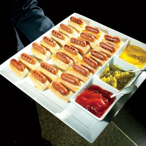 Tray Pass appetizers or late night snack!