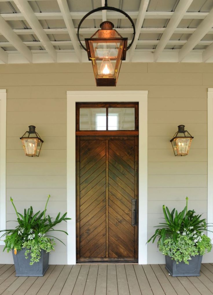 Farmhouse Outdoor Lighting Hanging