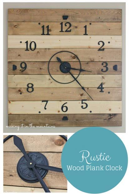 40---Making-it-in-the-Mountains---Rustic-Pallet-Clock