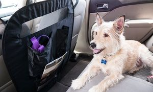 Keep pets from bounding into your lap as you drive with this barrier, which attaches easy to the front seats of most vehicles