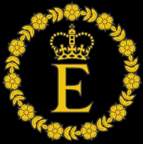 Royal Cypher of Elizabeth II as Queen of Commonwealth of Nations