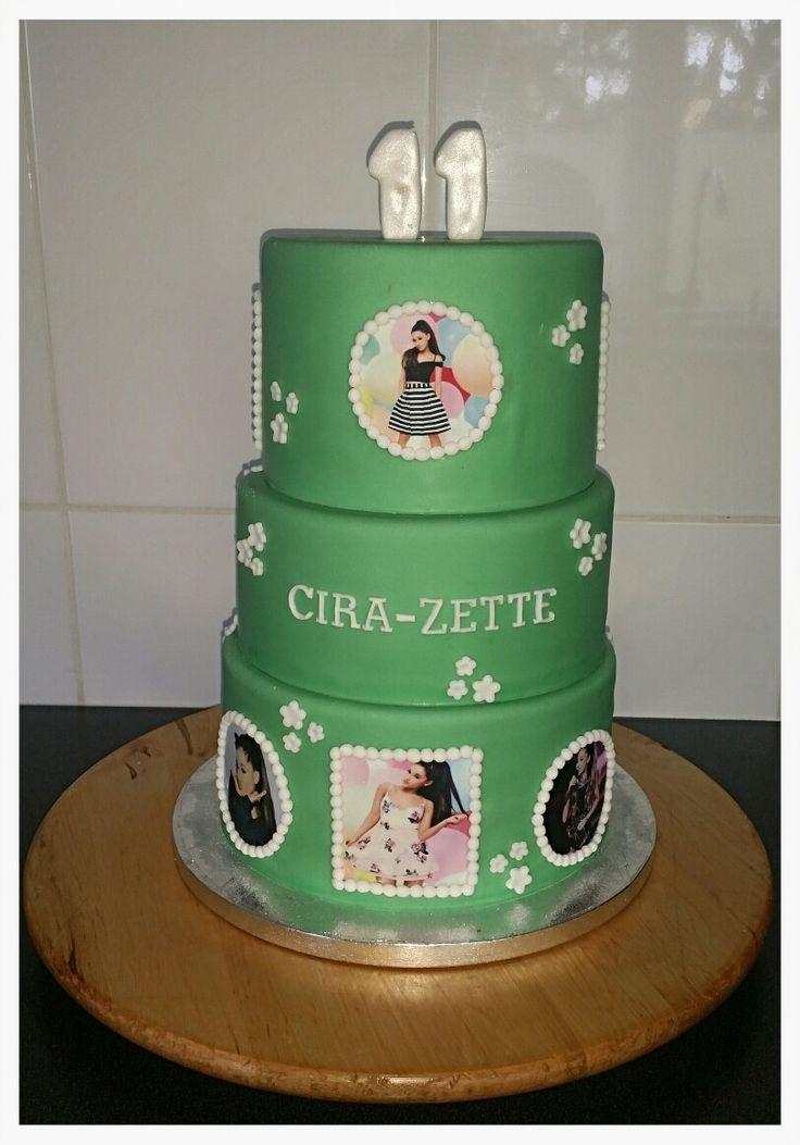 Ariane Grande birthday cake