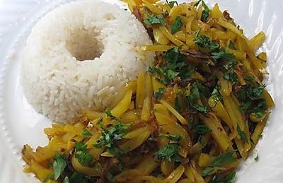 Receta olluquito de carne, comida peruana, olluco, carne