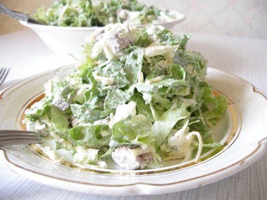 Весенние салаты — боремся с авитаминозом. Правильные витамины на вашем столе | Застолье-онлайн
