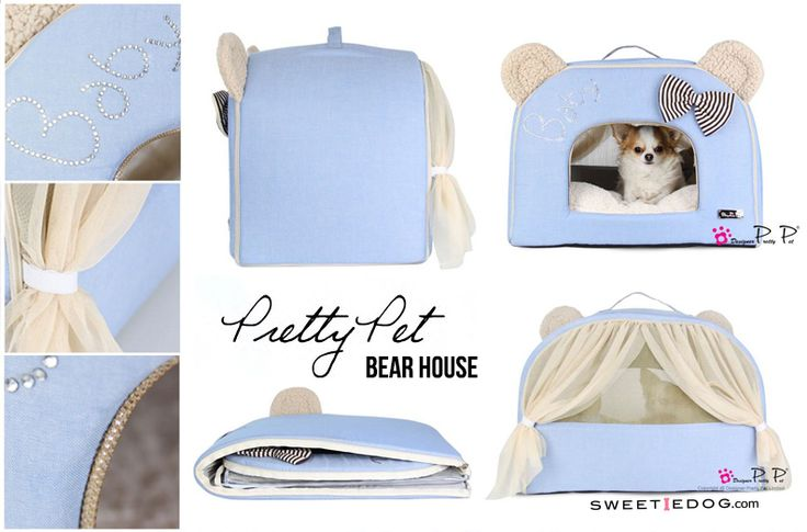 Bear House Pretty Pet www.sweetiedog.com #chihuahua #dogaccessories #dog #puppy #chien