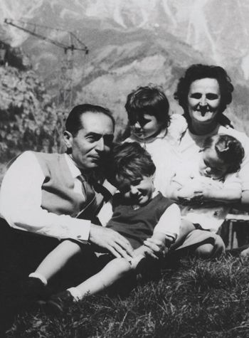 Pietro and St. Gianna with their first three children - What an inspirational family!: Catholic Saints, Gianna Molla, Catholic Stuff Spiritual, Things Catholic, Saint Gianna, Catholic Pinterest