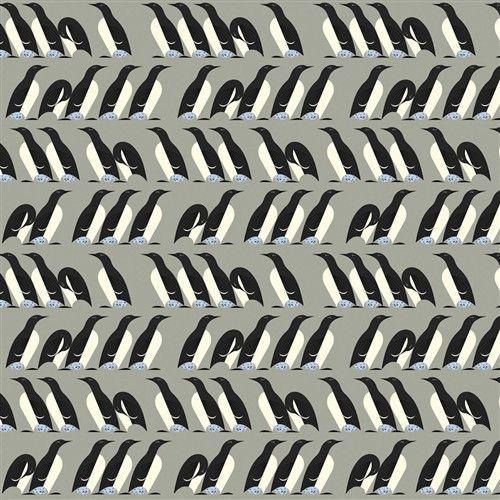 Murre - Nurture (Charley Harper) Organic Cotton Woven Poplin by Birch (5208.52.00.90)