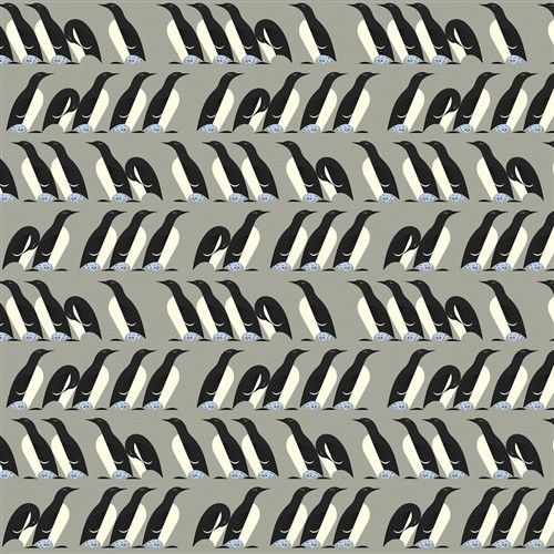 Murre - Nurture (Charley Harper) Organic Cotton Woven Poplin by Birch (5208.52.00.90)