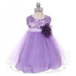 Schitterend lila met paars jurk voor bruidsmeisjes