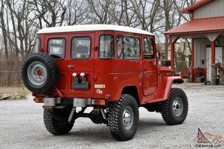 1978 Land Cruiser FJ40  Maintenance/restoration of old/vintage vehicles: the material for new cogs/casters/gears/pads could be cast polyamide which I (Cast polyamide) can produce. My contact: tatjana.alic@windowslive.com