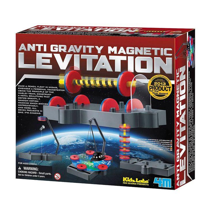 Toysmith 4M Anti-Gravity Magnetic Levitation Science Kit, Multicolor