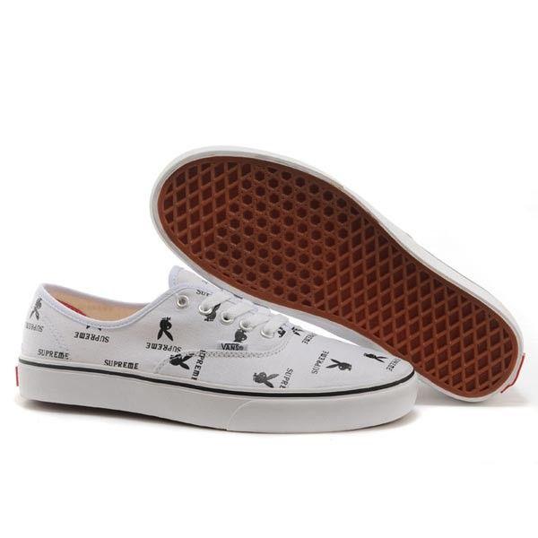 Vans Authentic Pro Shoes MensWomens Classic Canvas Sneakers White Supreme X Playboy [vans4u4009] - $39.99 : Vans Shop, Vans Shop in California