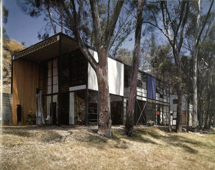 Charles and Ray Eames' Eames House, Los Angeles