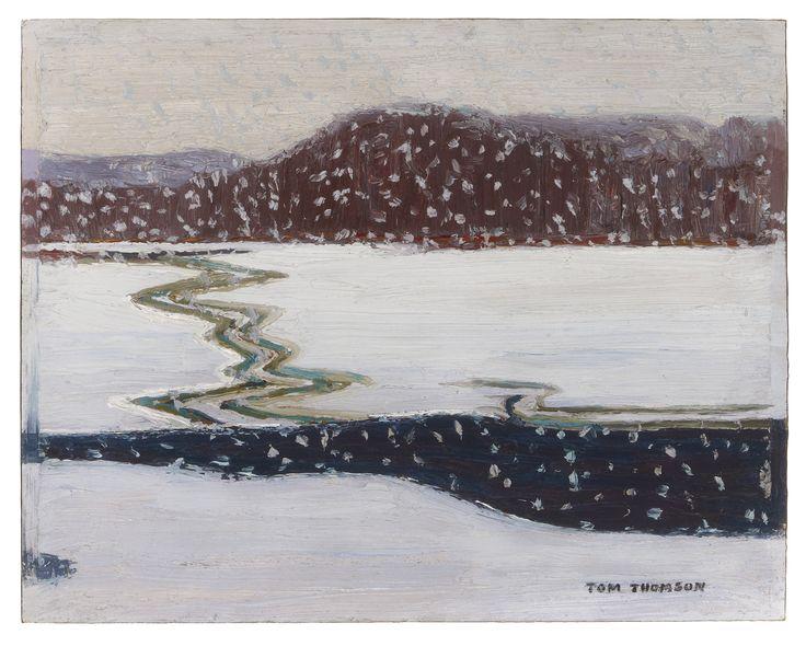 Tom Thomson Catalogue Raisonné | Wet Snow, Spring 1914 (1914.02) | Catalogue entry