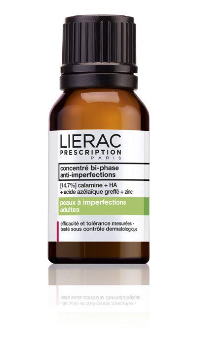 Για να εξαφανίσεις το σπυράκι που εμφανίστηκε απρόσκλητο! Lierac Prescription Concentré bi-phase Μαγικός Διφασικός ορός κατά των ατελειών  ξηραίνει απορροφά αμέσως τις ατέλειες προλαμβάνει το σχηματισμό σημαδιών από τα σπυράκια  http://www.lierac.gr/prescription-site/?id=4