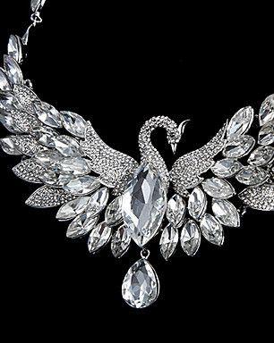 Nice Phoenix Alloy With Rhinestone Wedding/Special Occasion Jewelry Set