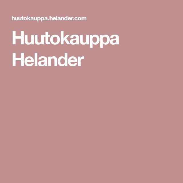 Huutokauppa Helander
