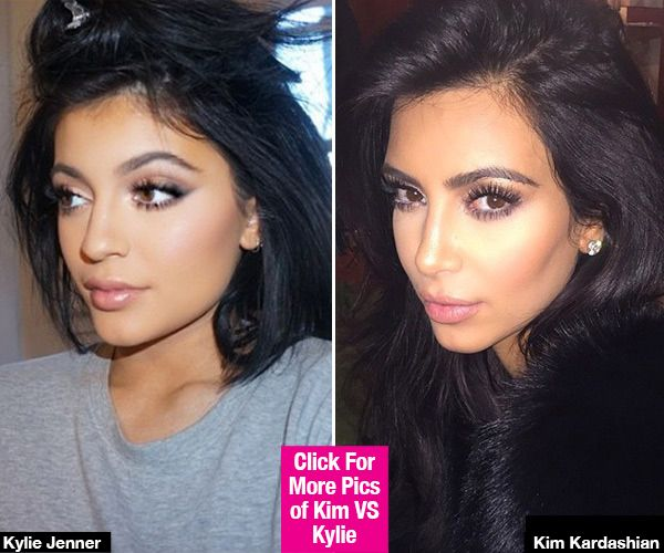 Kim Kardashian thinks Kylie Jenner has gotten so popular because she copied HER looks and likeness, and she's planning on suing her younger sister for it.