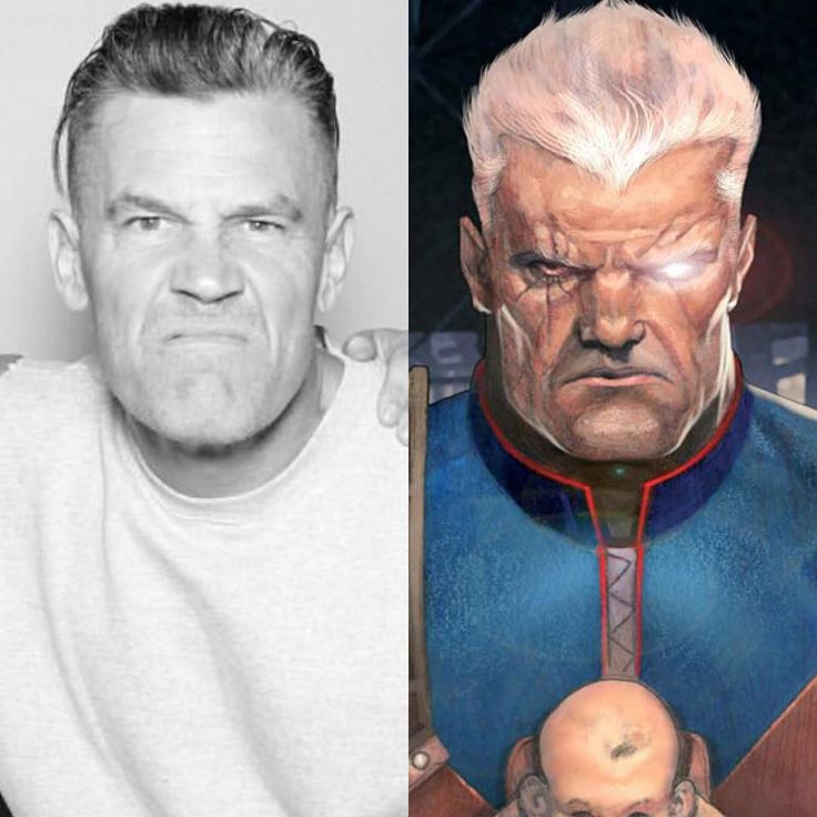 Josh Brolin rocking his new Cable look! What do you guys think?  #comicboiz #deadpool2 #cable #joshbrolin #deadpool #movie #film #like #love #follow