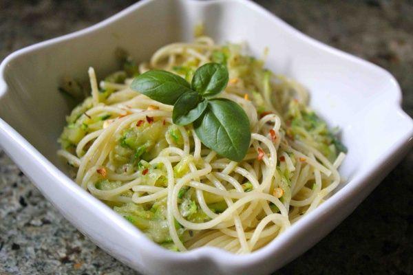 pasta con zucchini