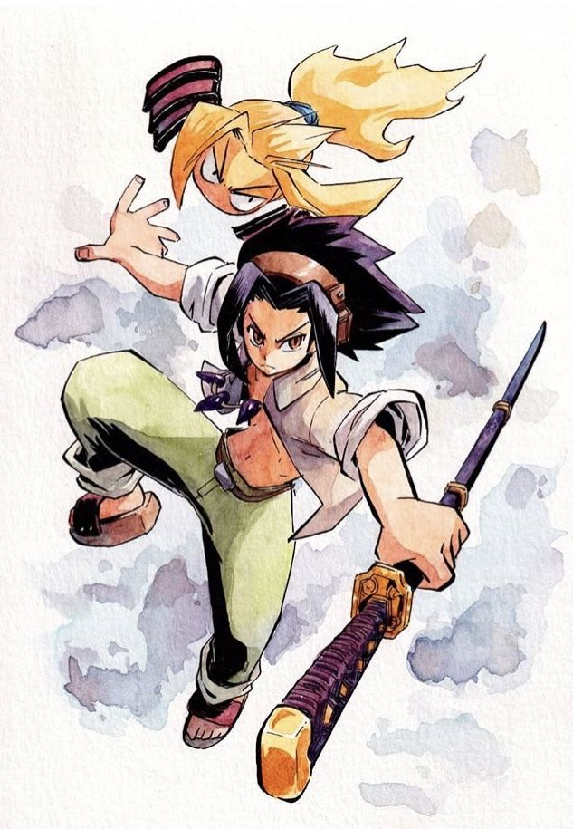 Pin By Anna Ortega On Room Of Swords Sim In 2020 Shaman King Art Poses Character Design
