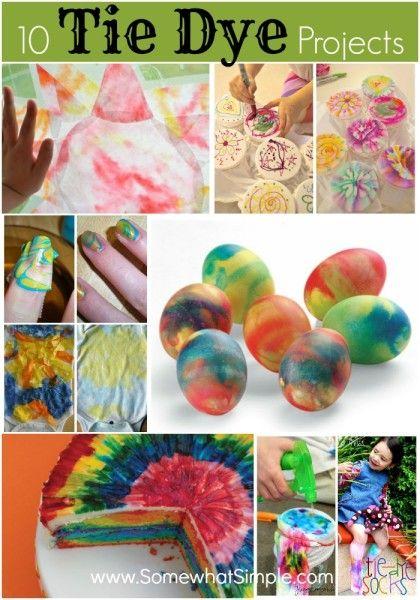Fun tie dye projects