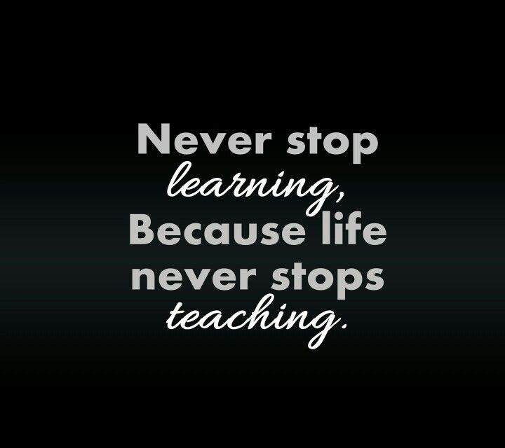 Never Stop Learning Quote Fascinating Quotes For Never Stop Learning Never Stop Picture