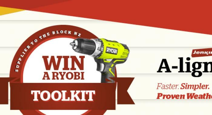 BLOG: Our Win a Ryobi Toolkit Competition winner is..... | The Jenkin Post #theblocknz #ryobi #jenkintimber http://blog.jenkin.co.nz/article/our-ryobi-toolkit-winner-and-competition-round