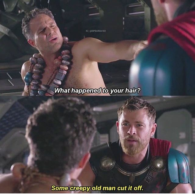Thor, Ragnorak, Chris Hemsworth, Mark Ruffalo, film, comics, comic books, comic book movies, Marvel comics, 2010s, 10s, 2017