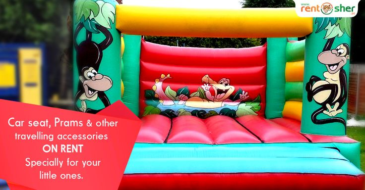 Bouncy Castles will teach Kids on how to bounce back every time they face challenges in life. Now you can rent #BouncyCastles and Kids Accessories like #Prams, #BabyCarSeats, #Strollers and many more from RentSher at affordable price with home delivery and pickup across #Bangalore and #Delhi. Visit us today to explore more details Bangalore: http://bit.ly/2ixMy5d Delhi: http://bit.ly/2iD6wyd