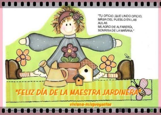 Día de las Maestras Jardineras