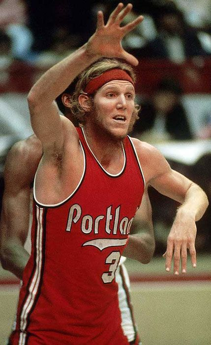 Basketball Player Bill Walton...