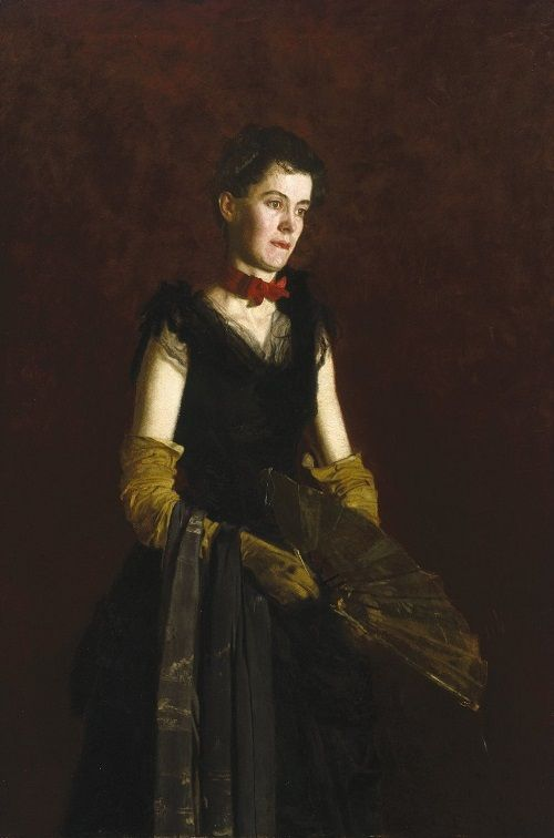 Thomas Eakins - Portrait of Letitia Wilson Jordan 1888
