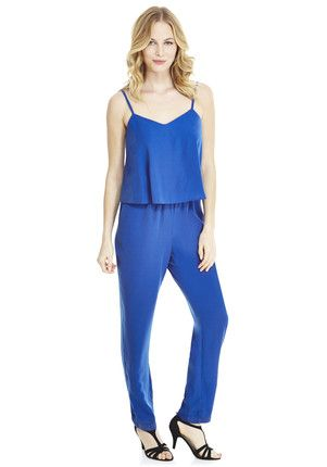 F&F Limited Edition Strappy Layered Jumpsuit