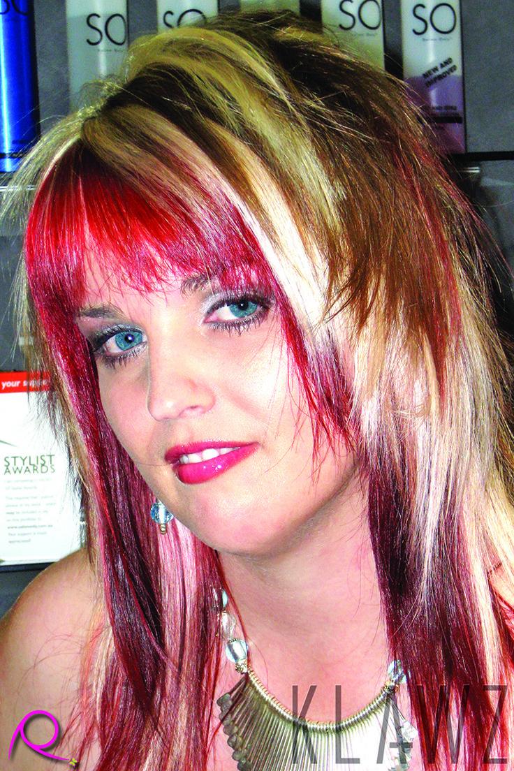 Long Hair - Chocolate Brown, Blonde & Red Pannels